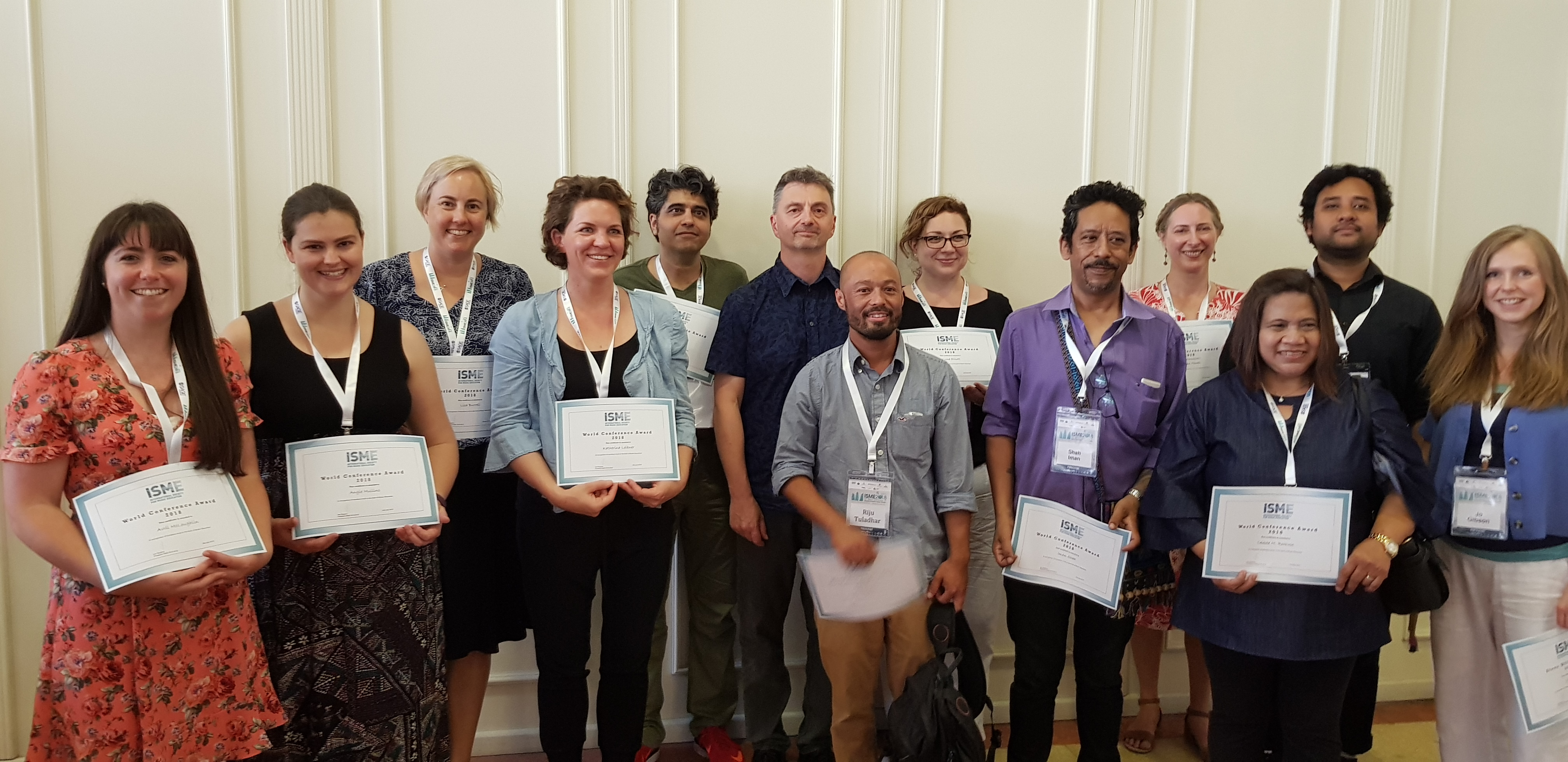World Conference Awards recipients 2018