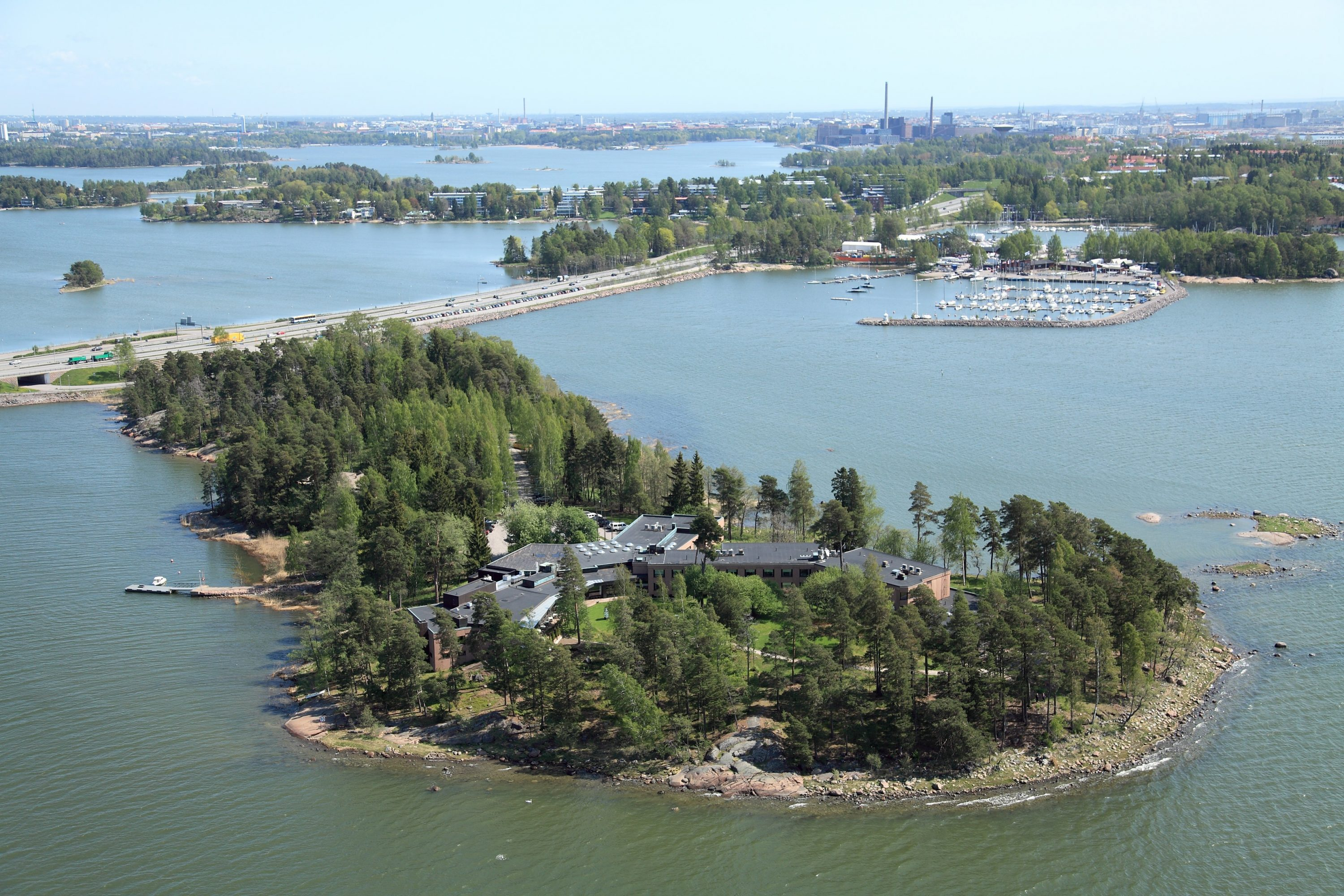 Hanasaari conference centre, venue for the ISME Policy Commission pre conference seminar