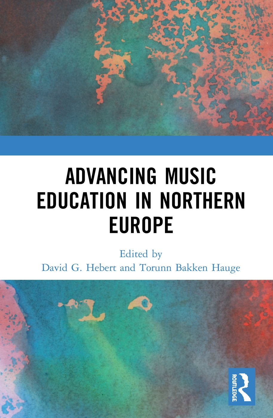 The cover of the book Advancing Music Education