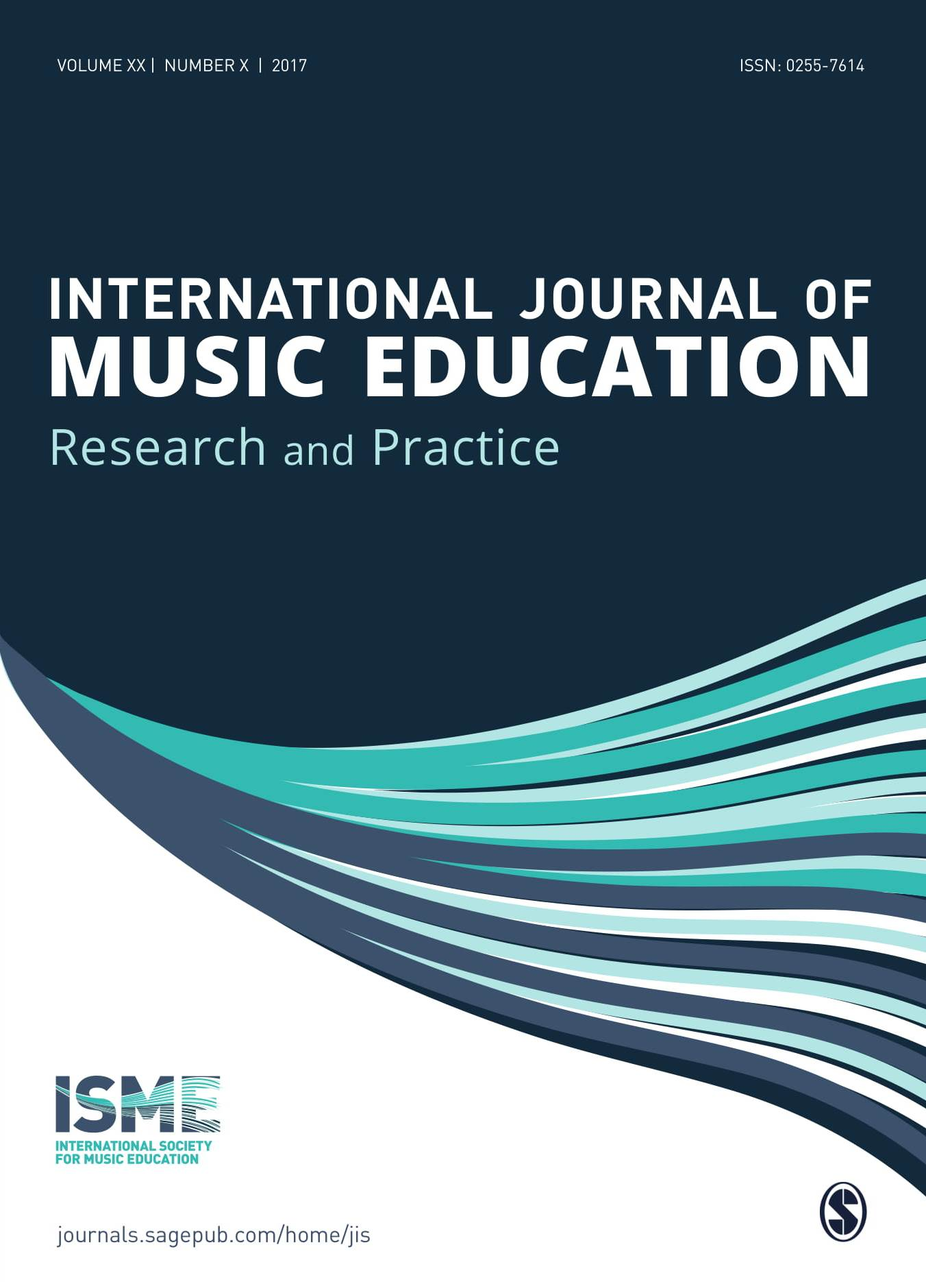 New cover design for the Journal