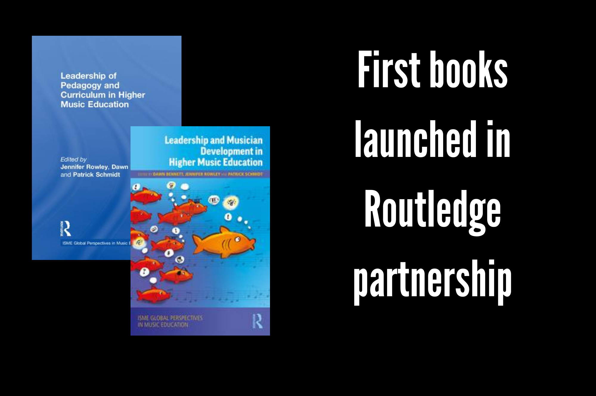 First books launched in Routledge partnership