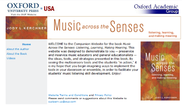 REVIEW: Music across the Senses: Listening, learning and