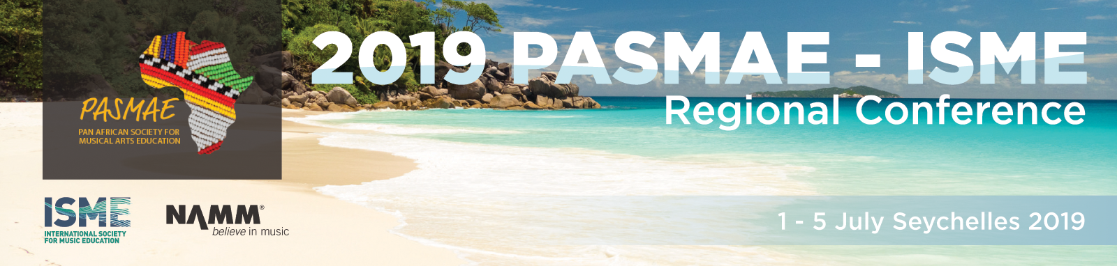 Invitation to attend PASMAE in the Seychelles