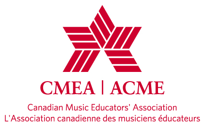 Logo for the Canadian Music Educators Association