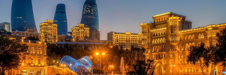 Photo of skyline in Baku