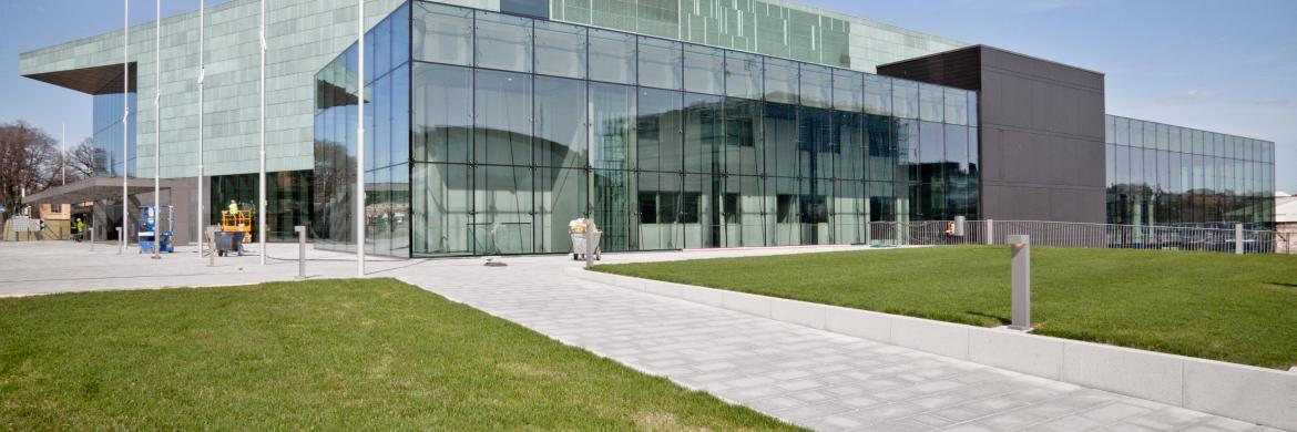 Picture of the Helsinki Music Centre, host venue for the ISME Community Music Pre Conference Seminar