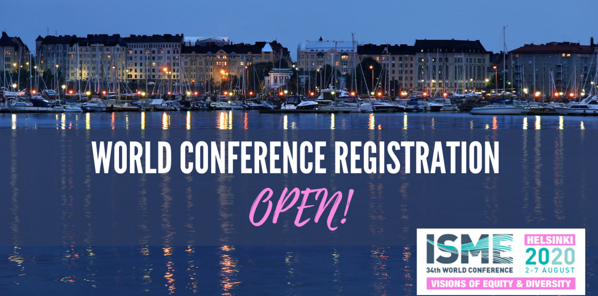 Conference registration is now open