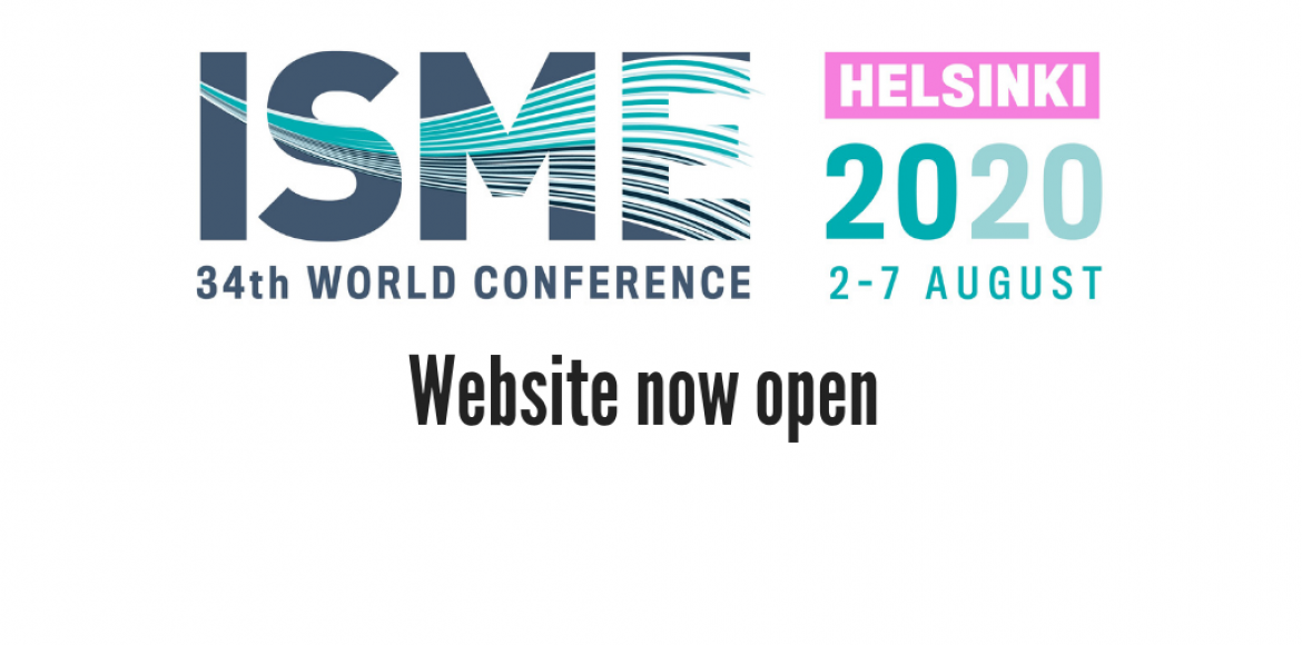 Logo for the 34th ISME World Conference in Helsinki