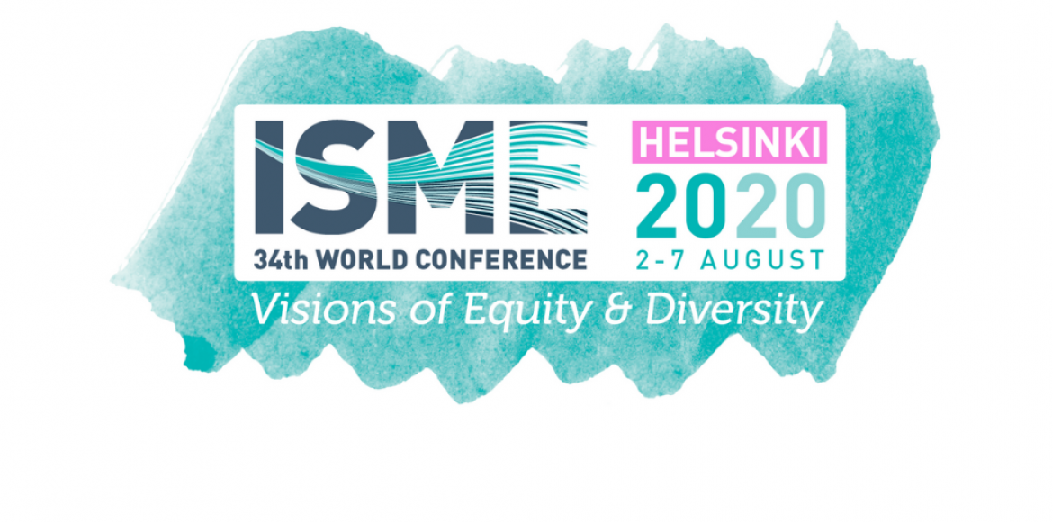 Logo for 34th ISME World Conference in Helsinki