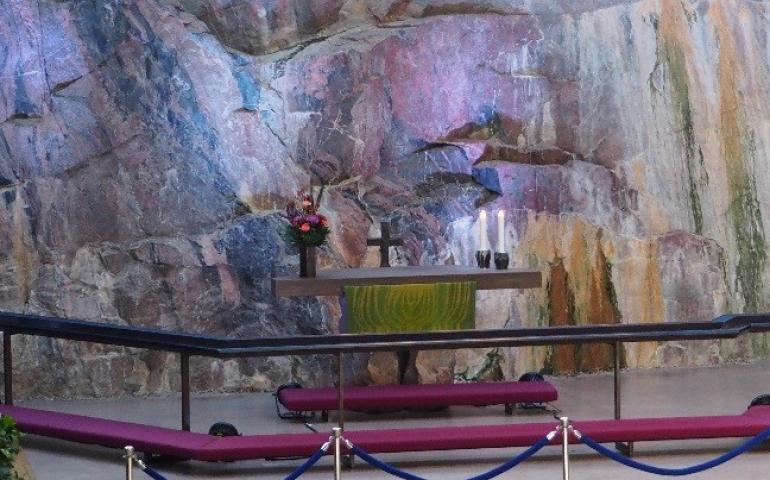 Church of the rock interior