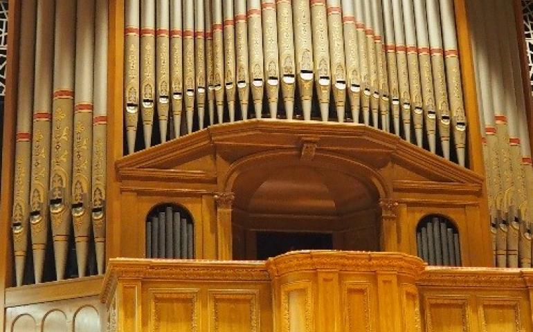 Organ in the Organ Hall