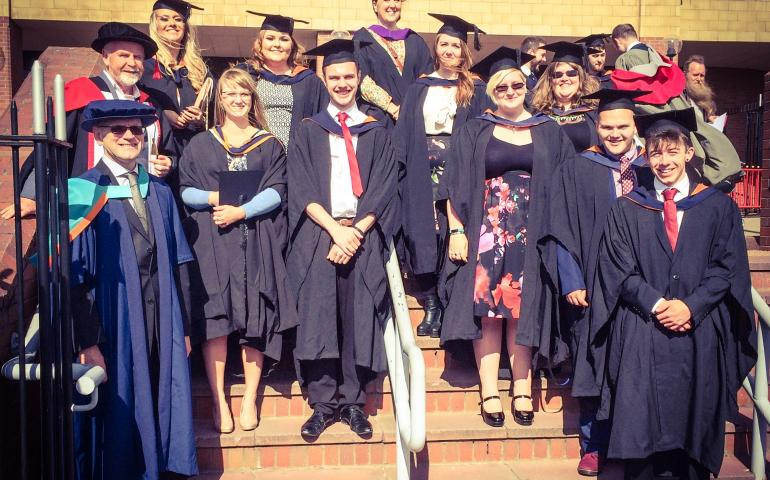 Sage Gateshead Graduation 2016