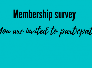 Membership survey invitation