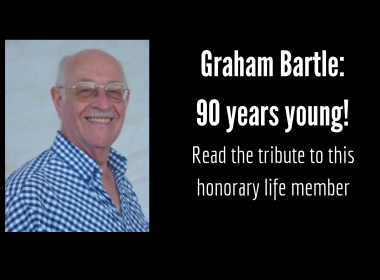 Graham Bartle is 90 years young