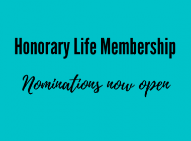 Honorary Life Membership nominations now open