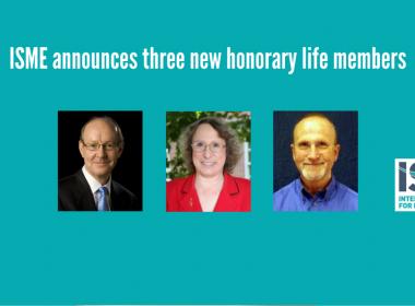 ISME announces three further honorary life members