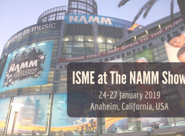 ISME at The NAMM Show. January 2019