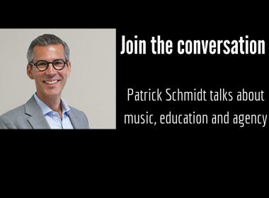 Patrick Schmidt Join the Conversation