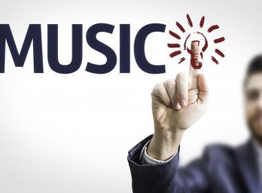 Man, music and a lightbulb