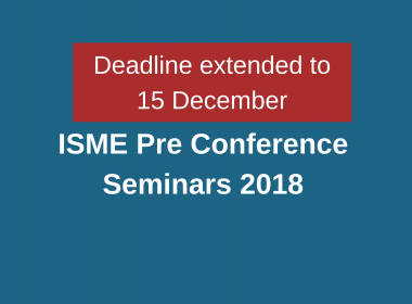 Pre conference seminars call for presenters extended to 15 December