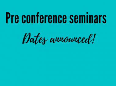 Pre conference seminars dates announced