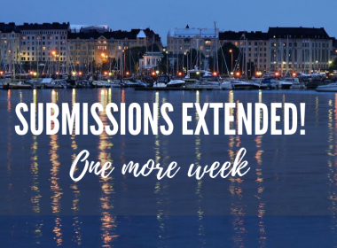 Submissions call extended to 8 October